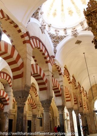 Baroque cupola topping off Moorish columns.
