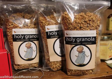 Holy granola.