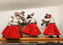 A big collection of these funny little figures illustrating European folk dances.