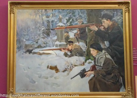 A rather nice painting of resistance fighters from the period.