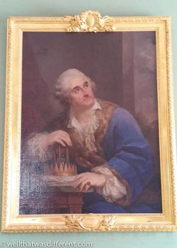 King Stanisław August Poniatowski.