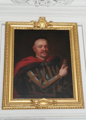 The Count, one of a long line of bald Polish nobility (no kidding, one kind was actually called Boleslav the Bald).