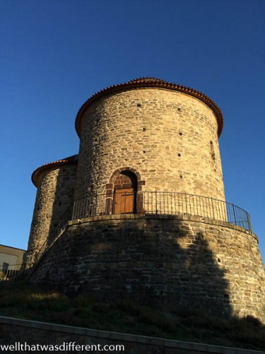 The Rotunda of Santa Katerina is a UNESCO World Heritage monument thanks to the medieval frescoes inside. No photos allowed, unfortunately.
